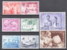 BELGIUM   545-52   *   BELGIUM   CONGO  MEDICINE - Belgium
