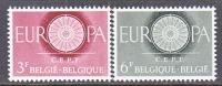 BELGIUM   553-4   *    EUROPA - Belgium