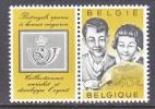 BELGIUM   555   STAMP  COLLECTING - Belgium