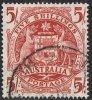 Australia SG224a 1949 Definitive 5/- Good/fine Used - Oblitérés