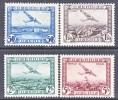 BELGIUM   C  1-4   * - Airmail