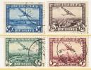 BELGIUM   C  1-4   (o) - Airmail
