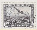 BELGIUM   C  2  (o)  VARIETY  BROKEN CIRCLE - Airmail