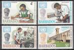Barbados   Scott No 344-47    Mnh     Year  1970 - Barbados (1966-...)