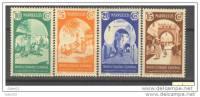 MA196-L4051TM.Maroc.Ma Rocco.MARRUECOS ESPAÑOL. PUERTAS TIPICAS. 1939 (Ed 196/9**)sin Charnela.LUJO - 1931-50 Nuevos & Fijasellos