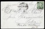 A3453) Ponta Delgada Karte Vom 26.6.1904 Nach Lisboa - Ponta Delgada