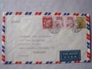 JAPON - Lettre Pour Marseille Par Avion- 3 Timbres Différends - Storia Postale