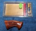 Plaquettes, poign�e, de revolver, mod�le de l�arme Smith et Wesson