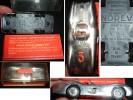Trouv.*VOITURE NOREV + BOÎTE*MERCEDES BENZ COMPÉTITION CHROMEE 1/43*SUEDE 1955*DEDICACEE PAR KARL KLING - Toy Memorabilia
