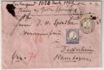 DR, 5 Gr. Und 2 Gr. Auf Wertbrief, Limburg - Lahn , € 190.-  , #3614 - Allemagne