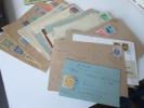 Belegeposten  70 Stk. Nachkriegsjahre. SBZ / Am Post / All. Besetz. / Franz. Zone. Ganzsachen / Briefe. Zensur /Landpost - Briefmarken