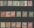 """FR Taxe YT 28 à 42A """" Type Duval """" 1893-1935 Oblitérés - Taxes"""