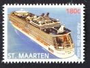 SINT MAARTEN ++ NEW NEW ++ 2015 SERIE  SHIPS ALLURE OF THE SEAS MNH NEUF ** - Curacao, Netherlands Antilles, Aruba