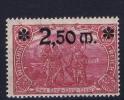 Dt Reich Mi Nr 119 MNH/**/postfrisch 1920