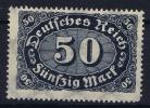 Dt Reich Mi Nr 246 C MNH/**/postfrisch 1922 - Germany
