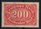 Dt Reich Mi Nr 248 C MNH/**/postfrisch 1922, BPP Signiert /signed/ Signé - Alemania