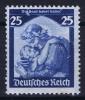 Dt Reich Mi Nr 568 MNH/**/postfrisch 1935