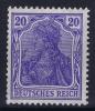 Dt Reich Mi Nr 87Ia MNH/**/postfrisch - Germania