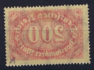 Dt Reich Mi Nr  248 MH/*, Mit Falz, Avec  Charnière Printed On Back