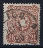 Dt Reich Mi Nr 35a Gestempelt/used Obl.  BPP Signiert /signed/ Signé - Gebraucht