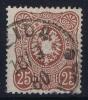 Dt Reich Mi Nr 35a Gestempelt/used Obl.  BPP Signiert /signed/ Signé