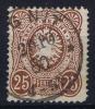 Dt Reich Mi Nr 35a Gestempelt/used Obl.  BPP Signiert /signed/ Signé - Usati