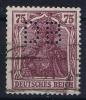 Dt Reich Mi Nr 148I Perfin DB Gestempelt/used Obl. - Usati
