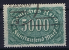 Dt Reich Mi Nr  256C  Gestempelt/used Obl.    Infla Signed/ Signé/signiert/ Approvato - Germany