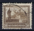 Dt Reich Mi Nr  453  WZ2  Gestempelt/used Obl. - Usati