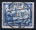 Dt Reich Mi Nr  505B   K14  Gestempelt/used Obl. - Gebraucht