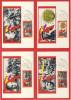 DDR Maximumkarte Michel No. 1196 - 1201