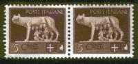 1929/42 -IMPERIALE - 5 Cent. - Nuevos