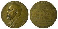 M01891  EMILE SPRUYT UNION BELGE - LUXEMBOURG  1907-1914 - Son Buste (72g) Comité... Au Revers - Firma's