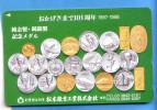 Japan Japon Telefonkarte Phonecard T�l�carte  -  Geld M�nzen USA spave Shuttle  Train Space Satellit