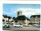 CP - Saint Pierre L Eglise (50) Place De L Abbe St Pierre (citroen 2 CV) - Saint Pierre Eglise