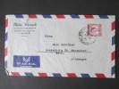 GB Kolonie 1955 Marokko / Tanger Luftpostbeleg. Philip Weinreb Import - Export - Oficinas En  Marruecos / Tanger : (...-1958
