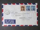 Ägypten Luftpostbrief Nach Sassenberg 4 Stempel. Universal Shipping & Trading Agency - Ägypten