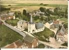 VILLERS -LE-BOUILLET   VUE AERIENNE         L´EGLISE (XII° S  ) - Villers-le-Bouillet