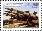 Algeria 1628 - 50° National People´s Army  - Military Army War Missile - Militaria