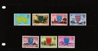 "1976 - Jersey - Definitive Issue -  (low Values ) Post Office  Etat "" Luxe"" - Jersey"