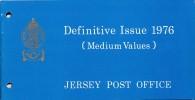 "1976 - Jersey - Definitive Issue -  ( Medium  Values ) Post Office  Etat "" Luxe"" - Jersey"