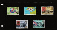 """1976 - Jersey - Definitive Issue -  ( High   Values ) Post Office  Etat """" Luxe"""" - Jersey"""