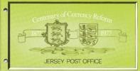 "1977 - Jersey - Centenary Of Currency Reform -   Post Office  Etat "" Luxe"" - Jersey"