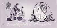 """1977 - Jersey - Silver Jubilee   -   Post Office  Etat """" Luxe"""" - Jersey"""