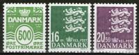 DANEMARK: N°1497+1498/1499 **       - Cote 16,70€ -