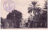 ALGER - Mustapha Sup�rieur,le Palais d'�t� du Gouverneur - SUPERBE cachet avec ancre de la Marine Fran�aise