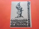 SUISSE GENEVE 12-13-14-15- AOUT 1934 VIGNETTE CONCOURS INTERNATIONAL DE MUSIQUE JOUEUR DE HARPE  HELVETIA ERINNOPHILIE - Svizzera