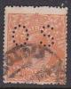 Australia 1918-23 Single Watermark King George V, Perforated Small OS, 2d Orange Used O71