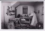 Moine Dans Son Atelier De Menuiserie. La Valsainte (Suisse). Carte-photo - Artesanal