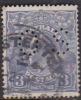 Australia 1918-24 Single Watermark King George V, Perforated Small OS, 3d Blue Used O82
